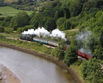 By steam railroad to Whitby