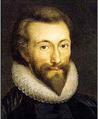 John Donne in his forties with goatee