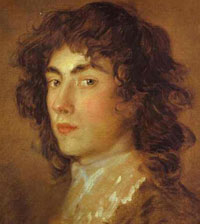 Portrait of his nephew