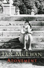 Cover of McEwan's novel Atonement shows young girl