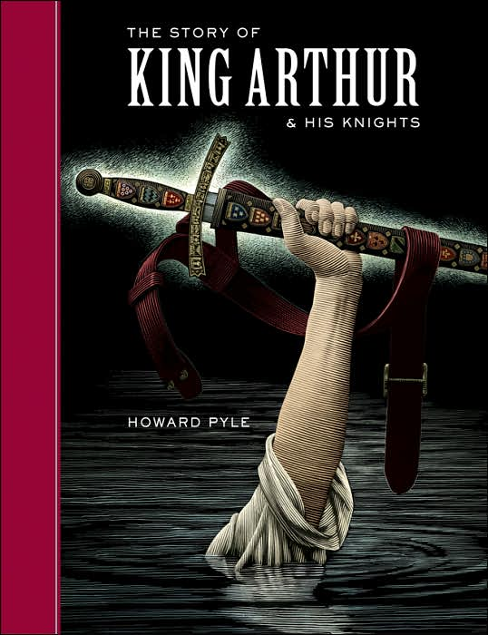 King Arthur - the hand lifting the sword out of the lake