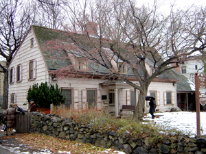 Bowne farmhouse