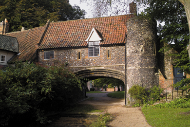 15th century house in Norfolk