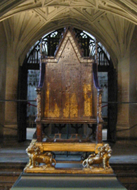 Coronation Throne