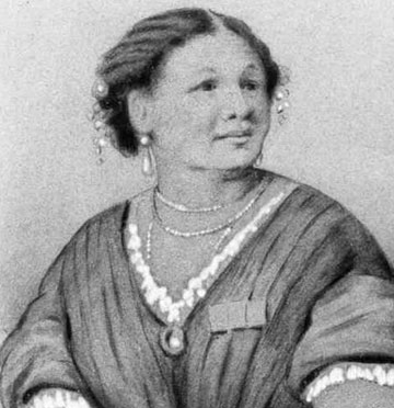 Drawing of Mary Seacole