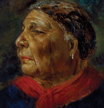 Portrait of Mary Seacole in old age