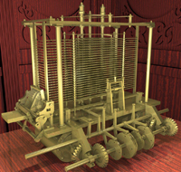 Model of Analytical Engine
