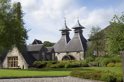 A whisky distillery in the Speyside