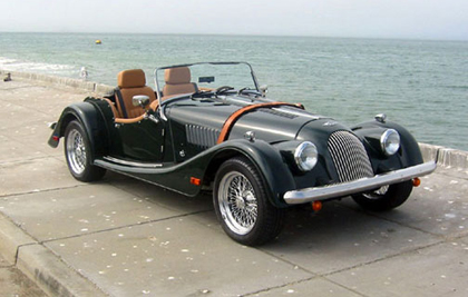 Morgan on the seafront
