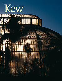 Palm House at Kew, lit at night