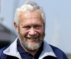 Grizzled Robin Knox-Johnston