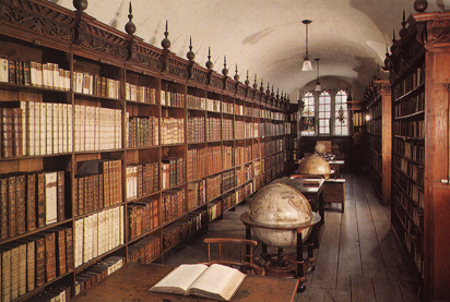 Winchester Cathedral library